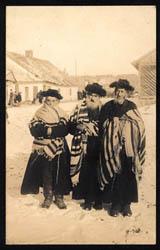 Cestou do synagogy, Polsko, kol. r. 1910