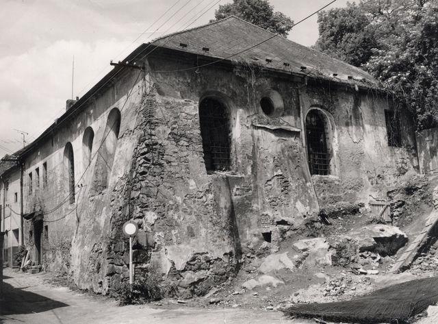 TŘEBÍČ – Zadní synagoga (1669)