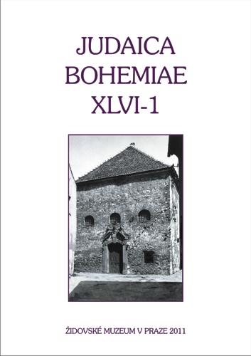 Judaica.Bohemiae XLVI-1