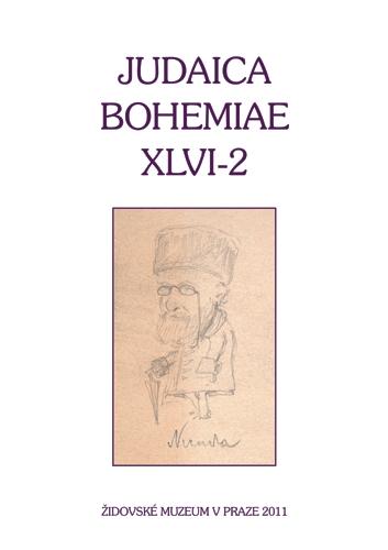Judaica Bohemiae XLVI-2