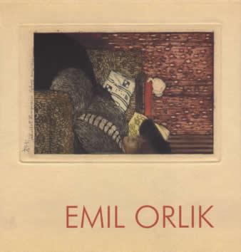 Emil Orlík - Podobizny přátel a současníků
